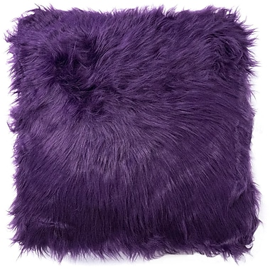 Sweet Home Collection Decorative Throw Pillow (Set of 2); Purple