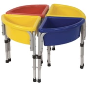 Offex 4 Station Round Sand & Water Table