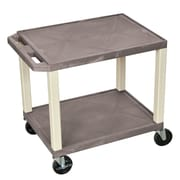 Offex 2 Shelf Utility Cart