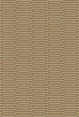Corrigan Studio Olinda Wenge/Golden Brown Rug; Runner 2'6'' x 8'