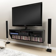 Brayden Studio Chon 58'' TV Stand; Black