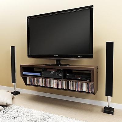 Brayden Studio Chon 58'' TV Stand; Espresso WYF078280507486
