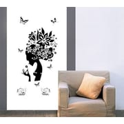Walplus Beauty Lady Wall Decal