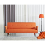 Porter International Designs Sitswell Sleeper Sofa; Orange