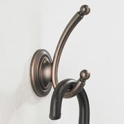 Richelieu Classic Metal Wall Hook; Brushed Oil-Rubbed Bronze