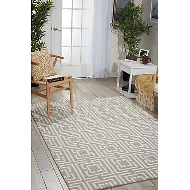 Ebern Designs Asteria Gray Area Rug; 2'6'' x 4'