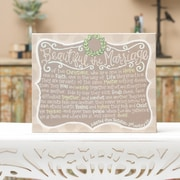 Glory Haus Beautiful The Marriage Wall Decor