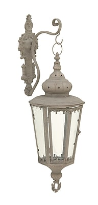 Cole & Grey Metal Lantern; Copper