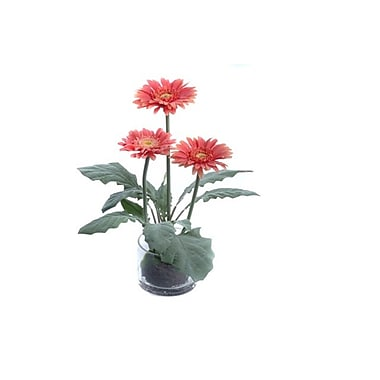 Gold Eagle USA Gerbera Flower in Decorative Vase