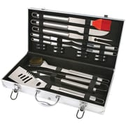 Chef Basics Stainless Steel 19-Piece BBQ Grilling Tool Set
