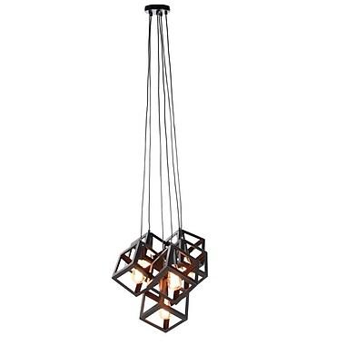 Cole & Grey Metal 6-Light Cluster Pendant