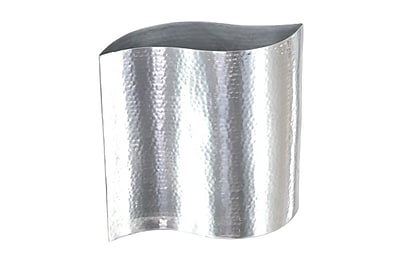 Cole & Grey Stainless Steel Table Vase