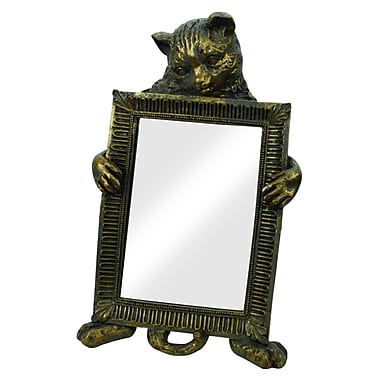 ExpoDecorLLC Gazing Cat Tabletop Mirror