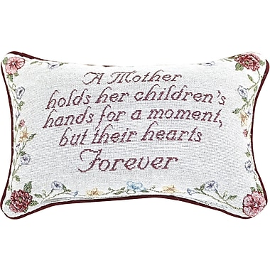 Manual Woodworkers & Weavers A Mother Holds Her Moment Lumbar Pillow