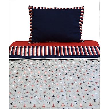 Pam Grace Creations Nautical 2 Piece Twin Comforter Set