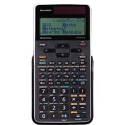 Sharp ELW535XGRD Write View 422 Function 16 Digit Scientific Calculator, Black