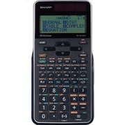 Sharp ELW516XGBSL Write View 422 Function 16 Digit Scientific Calculator, Black