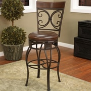 Darby Home Co Matherville 30'' Swivel Bar Stool