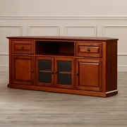 Darby Home Co Dye TV Stand; Classic Cherry