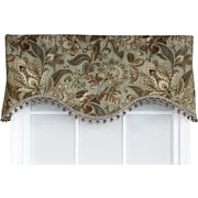 Darby Home Co Gilead Window Valance; Onyx