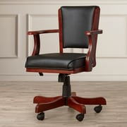 darby home co maynes midback bankers chair english tudor