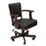 Darby Home Co Maynes Mid-Back Bankers Chair; Black