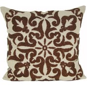 Darby Home Co Trembley Linen Throw Pillow; Copper