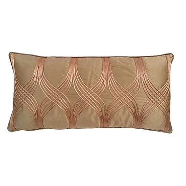 Darby Home Co Gebhardt Lumbar Pillow; Toffee