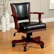 Darby Home Co Bridgeforth Bankers Chair; Cherry