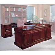 Darby Home Co Prestbury Left Return U-Shape Executive Desk; Left