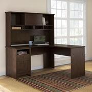 Darby Home Co L-Shaped Computer Desk w/ Hutch