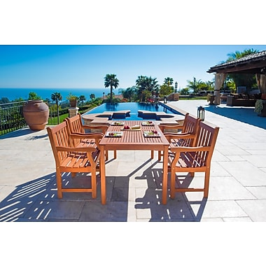 Darby Home Co Ehlert 5 Piece Dining Set