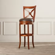 Darby Home Co Brashears 34'' Swivel Bar Stool