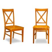 Darby Home Co Oliver Side Chair (Set of 2); Caramel Latte