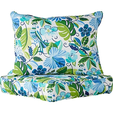 Darby Home Co 2 Piece Indoor/Outdoor Chair Cushion Set