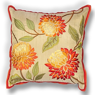 Darby Home Co Craigmont Chrysatham Throw Pillow