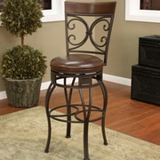 Darby Home Co Matherville 34'' Swivel Bar Stool