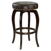 Darby Home Co Windsor Lane 31.4'' Swivel Bar Stool; Brown