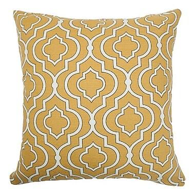 Darby Home Co Gladstone Tile Cotton Throw Pillow; 20'' x 20''