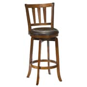 Darby Home Co Malcolm 29.5'' Swivel Bar Stool; Cherry
