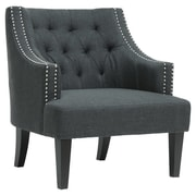 Darby Home Co Madeleine Armchair; Charcoal Grey