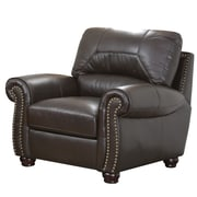 Darby Home Co Allen Italian Leather Chair