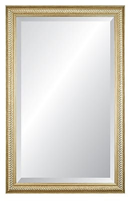 Darby Home Co Etched Frame Wall Mirror;