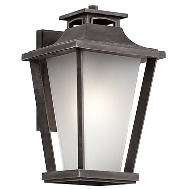 Darby Home Co Botello 1-Light Outdoor Wall Lantern; 15'' H x 9'' W