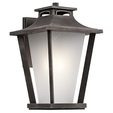 Darby Home Co Botello 1-Light Outdoor Wall Lantern; 18.25'' H x 11.75'' W