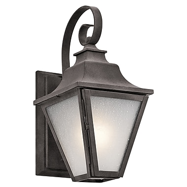 Darby Home Co Botkins 1-Light Outdoor Wall Lantern; 13.25'' H x 6.5'' W