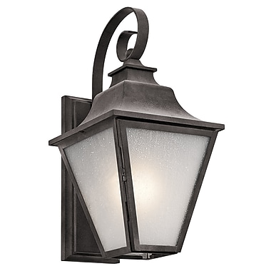 Darby Home Co Botkins 1-Light Outdoor Wall Lantern; 17.25'' H x 8.5'' W