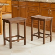 Darby Home Co Struthers 24'' Bar Stool (Set of 2)