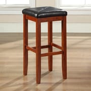 Darby Home Co Honor 29'' Bar Stool (Set of 2); Classic Cherry