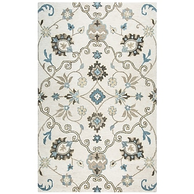 Darby Home Co Venedy Hand-Tufted Beige Area Rug; 8' x 10'